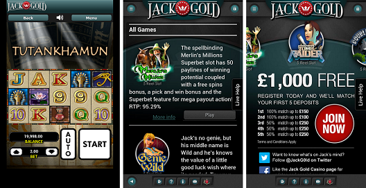Android Casino App Jack Gold